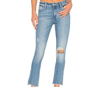 Lovers + Friends Logan Vernon High-Rise Denim NEW